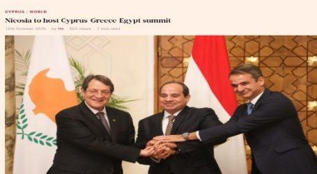 صحيفة (فايننشال ميرور) القبرصية: العاصمة القبرصية نيقوسيا تستضيف القمة القبرصية اليونانية المصرية