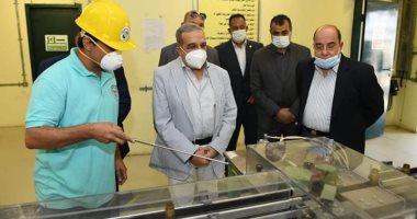 وزير الإنتاج الحربى يتفقد شركة أبو زعبل للصناعات المتخصصة