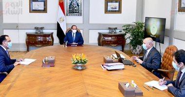 السيسى يوجه بدعم المخصصات المالية اللازمة لمشروعات وزارة النقل