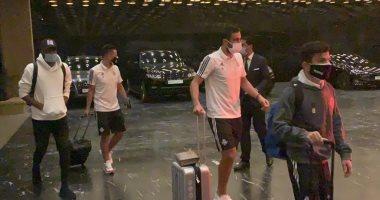 """بيراميدز يؤدى أول تدريباته بالمغرب على ملعب """"كهرما"""""""