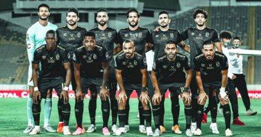 مروان محسن يسجل الهدف الأول للأهلي أمام الوداد
