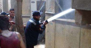 السيطرة على حريق معهد صقر قريش الأزهرى دون إصابات.. وإخلاء 80 تلميذا