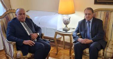 وزير الخارجية يبحث مع بوجدانوف التنسيق المشترك فى مجال مكافحة الإرهاب