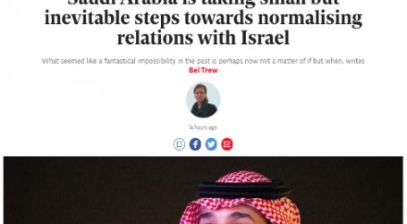 موقع (إندبندنت) البريطاني:السعودية تتخذ خطوات صغيرة ولكنها حتمية تجاه تطبيع العلاقات مع إسرائيل