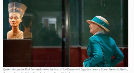 """"""" الحدث الآن """"  يقدم .. مقال مترجم لـموقع """"المونيتور"""" الأمريكي مصر تجدد طلبها باستعادة تمثال """"نفرتيتي"""" من ألمانيا"""