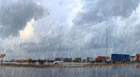 هطول امطار غزيرة بالضبعة والعلمين تؤدي لتوقف حركة الصيد