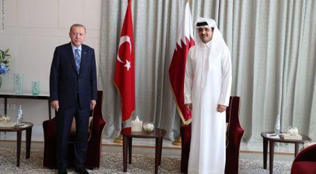 أردوغان يستقبل تميم في تركيا