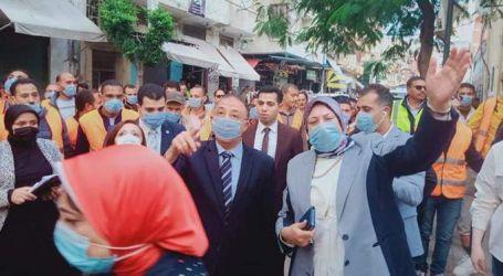 """السيسى يكلف بنقل سكان عقار الإسكندرية المائل لـ""""بشاير الخير"""""""