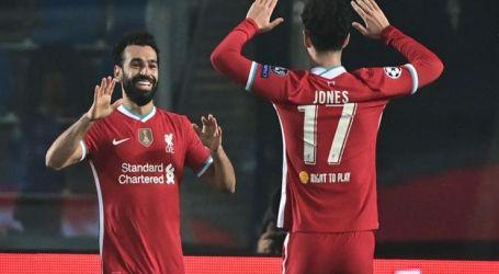 هدف صلاح في إيفرتون يفوز بجائزة أفضل أهداف الشهر فى ليفربول