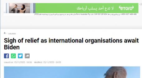 فرنسا 24 :المنظمات الدولية تتنفس الصعداء مع فوز بايدن بالرئاسة