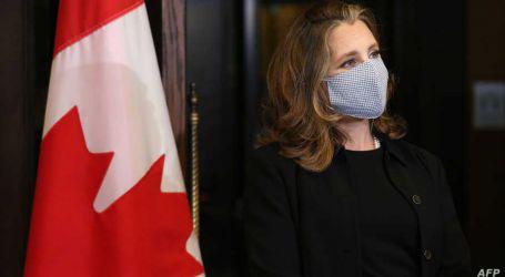 بسبب تطبيق هاتفي .. نائبة رئيس الوزراء الكندي تعزل نفسها