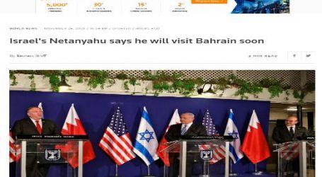 "رويترز :""نتنياهو"" يقول إنه سيزور البحرين قريباً"