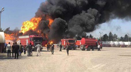 رويترز: حريق بمصفاة نفط عراقية بعد استهدافها بصاروخ