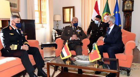 وزير الدفاع يعود إلى أرض الوطن بعد زيارته الرسمية لجمهورية البرتغال