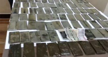 الداخلية تضبط 200 طربة حشيش بقيمة 1.4 مليون جنيه