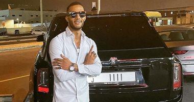 أول صورة لأحدث سيارات محمد رمضان .. رولز رويس ورقمها 1111