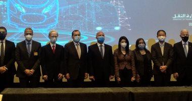 وزيرة التعاون الدولى تشهد توقيع عقود تطوير شبكات النقل الجماعى بـ1.6 مليار دولار