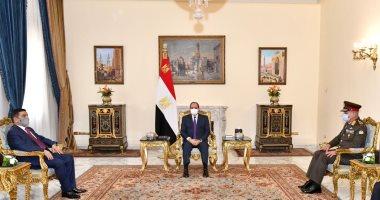السيسى يبحث مع وزير الدفاع العراقي التعاون الثنائي العسكري بين البلدين