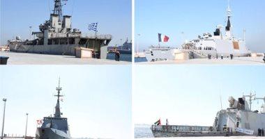 التدريب البحرى الجوى المشترك المصرى اليونانى القبرصى