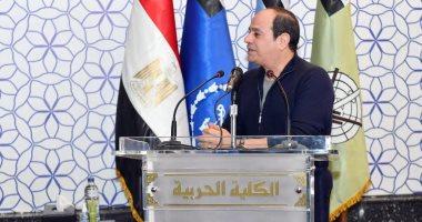 الرئيس السيسي يوجه الشكر لدولة الإمارات على شحنة لقاحات كورونا لمصر