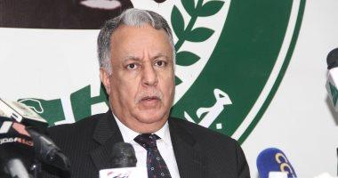 السفير محمد الربيع الأمين العام لمجلس الوحدة الاقتصادية المنتهية ولايته