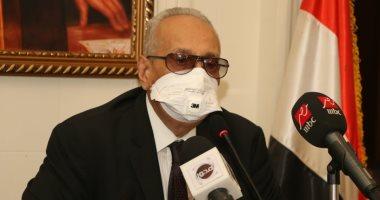 المستشار بهاء الدين أبوشقة وكيل أول مجلس الشيوخ