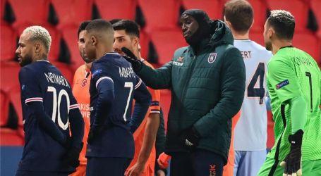 توقف مباراة باريس سان جيرمان وباشاك شهير بسبب عنصرية الحكم