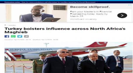 فرنسا 24 : تركيا تعزز من نفوذها في المغرب العربي