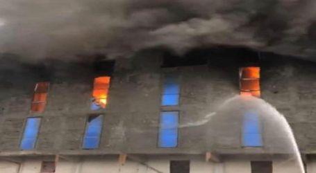 رئيس ميناء الإسكندرية:تم التعامل مع الحريق عن طريق 18 سيارة إطفاء