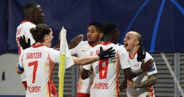 لايبزيج يقصي مانشستر يونايتد من دوري أبطال أوروبا