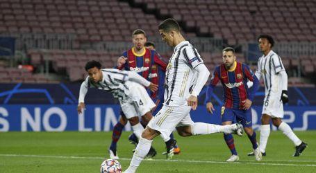 يوفنتوس يكتسح برشلونة بثلاثية في دوري أبطال أوروبا