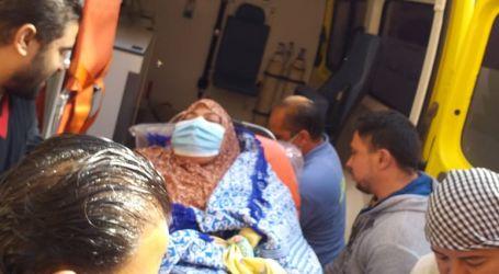 نقل سيدة المنوفية للمستشفى لعلاجها من السمنة المفرطة تنفيذا لتوجيهات الرئيس