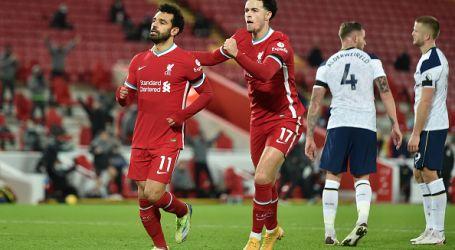 محمد صلاح يتصدر ترتيب هدافي الدوري الإنجليزي بعد هدفه ضد توتنهام