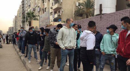 توافد المواطنين على لجان انتخابات الإعادة بالنواب فى القاهرة