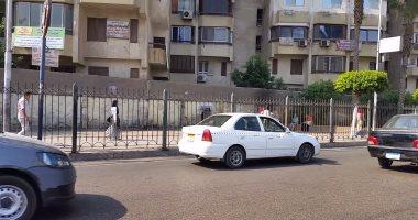انتظام حركة السيارات بمحاور وميادين القاهرة والجيزة