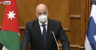 وزير خارجية اليونان يتهم تركيا باستفزاز دول الجوار ونقل المرتزقة إلى ليبيا