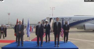 إقلاع أول طائرة من تل أبيب إلى الرباط على متنها وفد أمريكى إسرائيلى