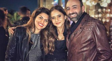 شاهد رقصة مع آسر ياسين وموقف طريف فى عيد ميلاد نيللى كريم