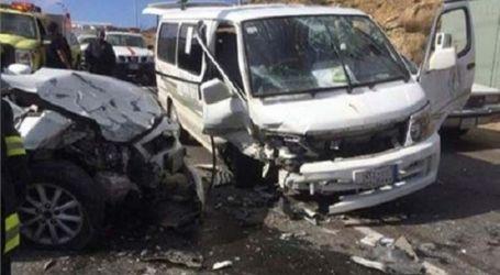 مصرع 5 وإصابة 12 شخصا فى حادث تصادم على الطريق الزراعى الغربى بسوهاج