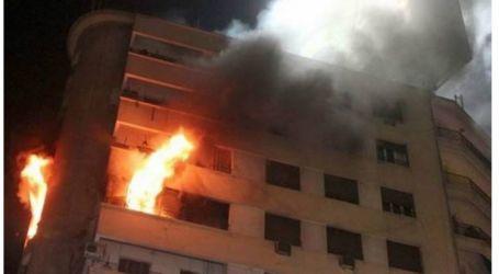 إصابة شخصين جراء إندلاع حريق في منزل بالإسماعيلية