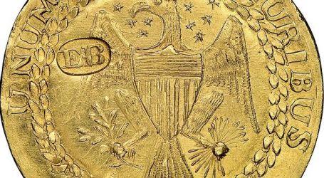 """بيع عملة ذهبية نادرة بـ9.36 مليون دولار فى أمريكا.. اعرف تاريخ صناعتها """"صور"""""""