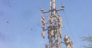 فصل الكهرباء عن الحمرايا شرق النيل ببني سويف من 9 صباحا لـ12 ظهرا اليوم لصيانة المغذى