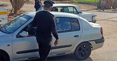 حملات موسعة بمحاور القاهرة والجيزة لرصد مخالفى قواعد المرور