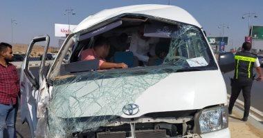 نيابة أكتوبر تطلب التقرير الفنى بقضية وفاة أمين شرطة ومتهمة صدمتهما سيارة