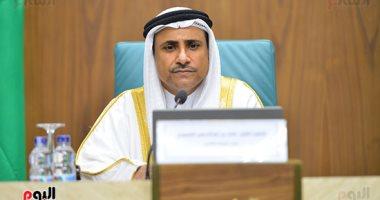 رئيس البرلمان العربى: موقف الرئيس السيسى فى أزمة ليبيا أظهرت السيادة العربية