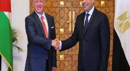 الرئيس السيسى يتوجه غدا إلى الأردن بدعوة من الملك عبد الله الثانى