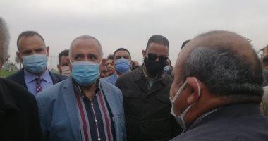 وزير الرى من الفيوم: 18 مليار جنيه لتنفيذ مشروع تبطين الترع بمصر