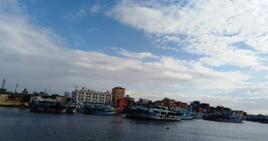 إغلاق ميناء الصيد بعزبة البرج بسبب هطول الأمطار وسوء الأحوال الجوية