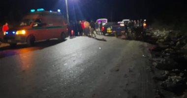 إصابة 3 أشخاص فى حادثين متفرقين بقنا
