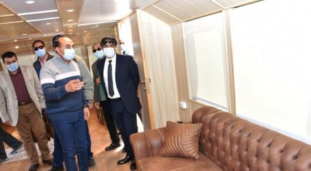 محافظ أسوان يتفقد الفنادق واللنشات السياحية
